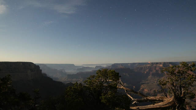 Grand Canyon im Mondlicht