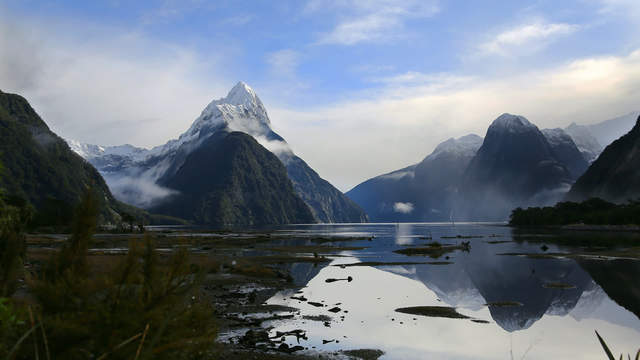 Mittre Peak am Milford Sound