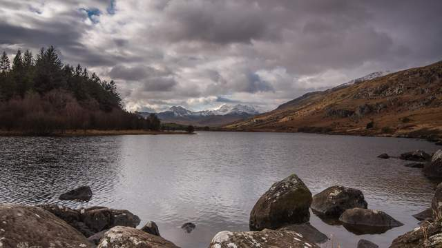 Llynnau Mymbyr Seen, Snowdonia-Nationalpark