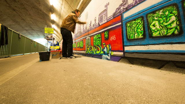 Tunnelblick Graffiti